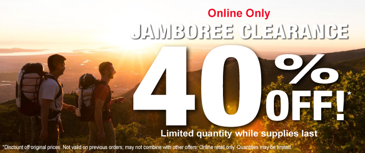 Jamboree Clearance 40% Off Original Pricing