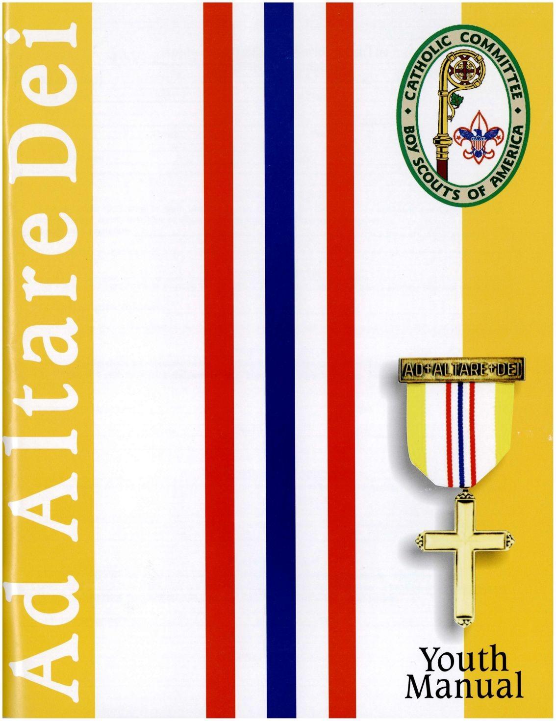 Ad Altare Dei Youth Manual Boy Scouts Of America