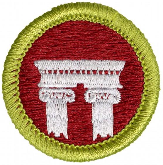 badge merit architecture boy scouts health emblem america badges skip