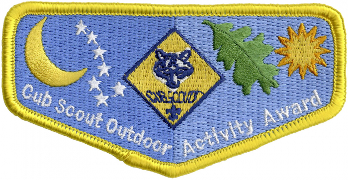 Cub Scout Outdoor Activity Emblem | Boy Scouts of America