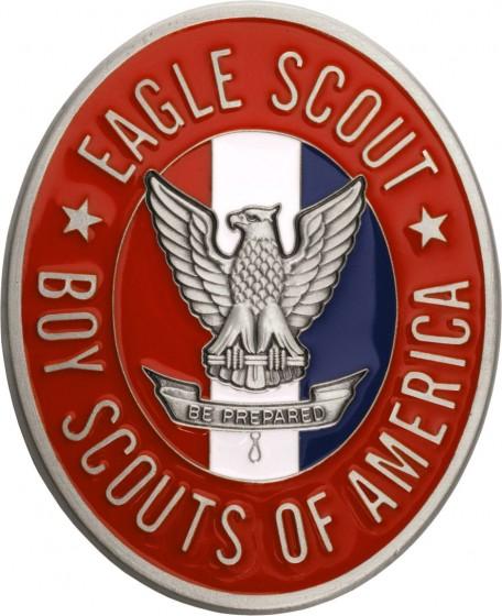 Boy Scout Rank Holder Oval qty 5