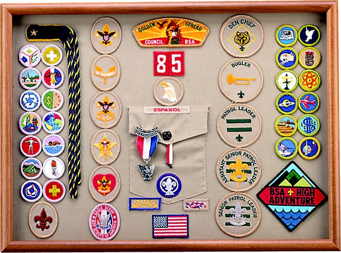 SCOUT BADGE BLANKET *OFFICIAL SUPPLIER*