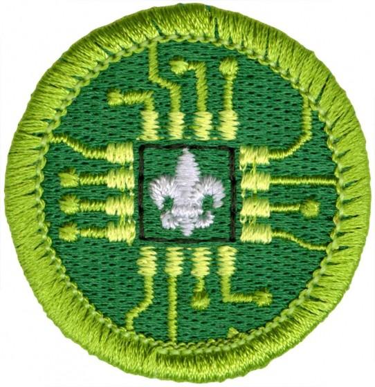 Digital Tech Merit Badge Emblem | Boy Scouts of America