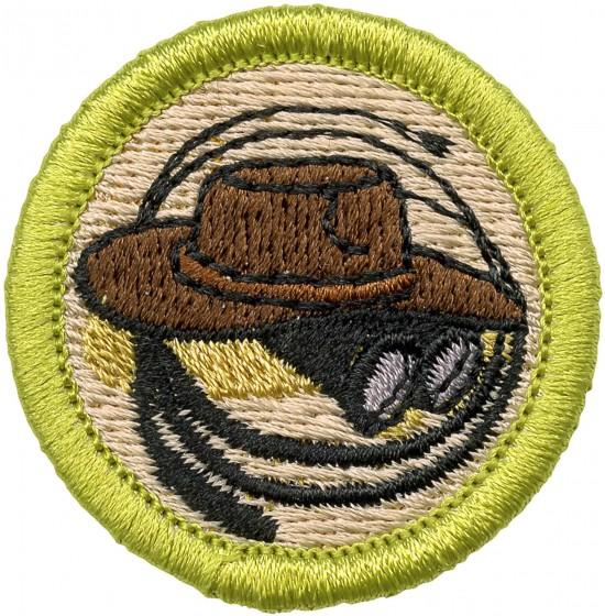 Exploration Merit Badge Emblem