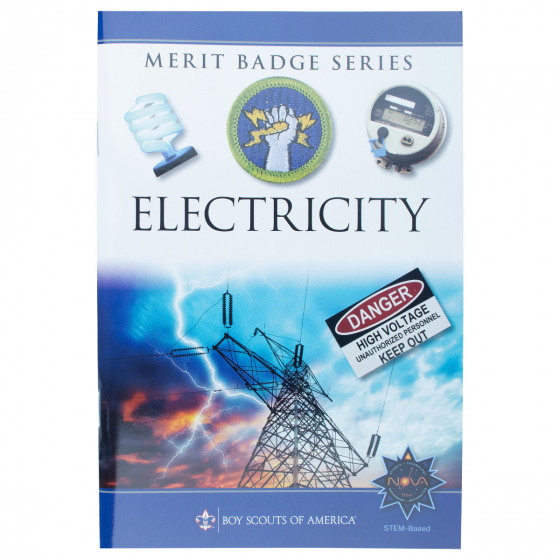 Electricity Merit Badge Pamphlet Boy Scouts Of America