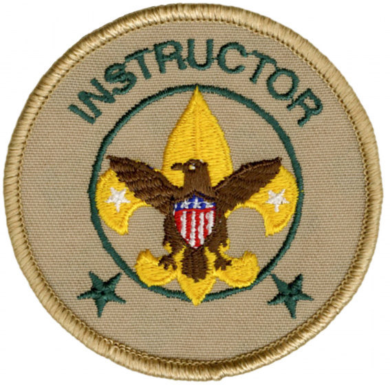 Instructor Emblem | Boy Scouts of America