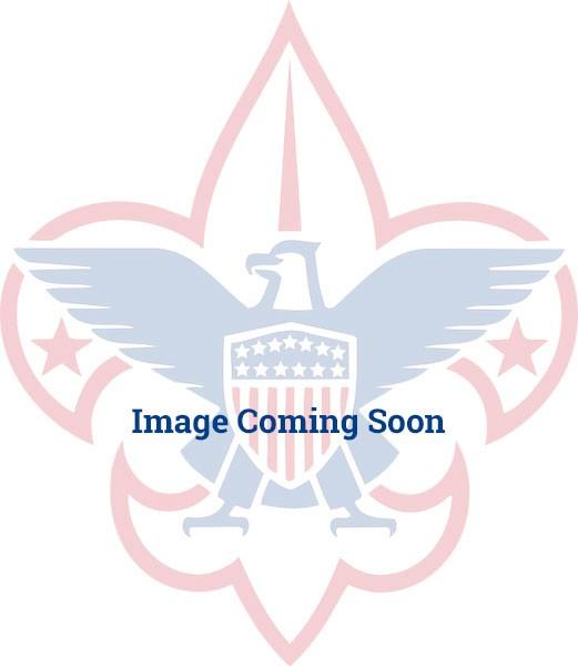 Fleur de Lis Red Blue Custom Name Tag Badge ID Pin Magnet for Webelos Cub Scouts