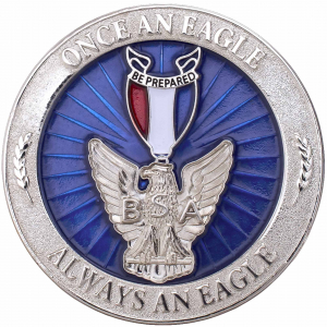 Men/'s ID /& Document Holders With Metal Eagle Badge