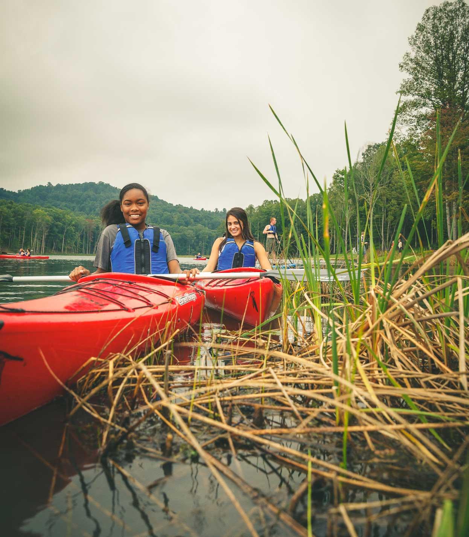 BSA Camp Canoeing