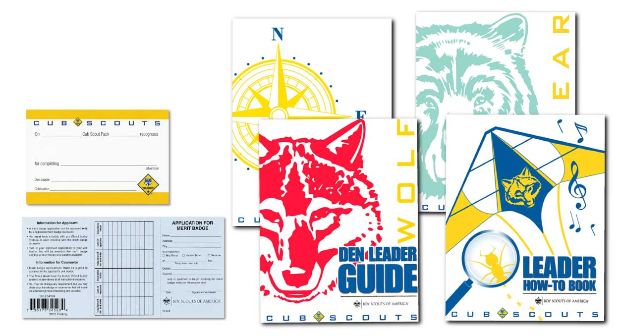 BSA Leader Guide Books