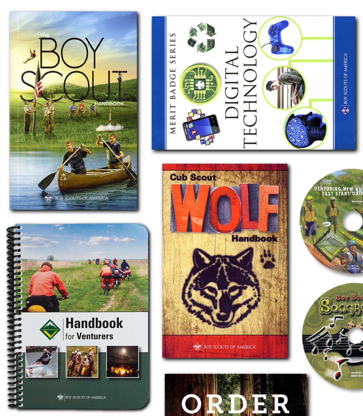 BSA Scout Resource Books