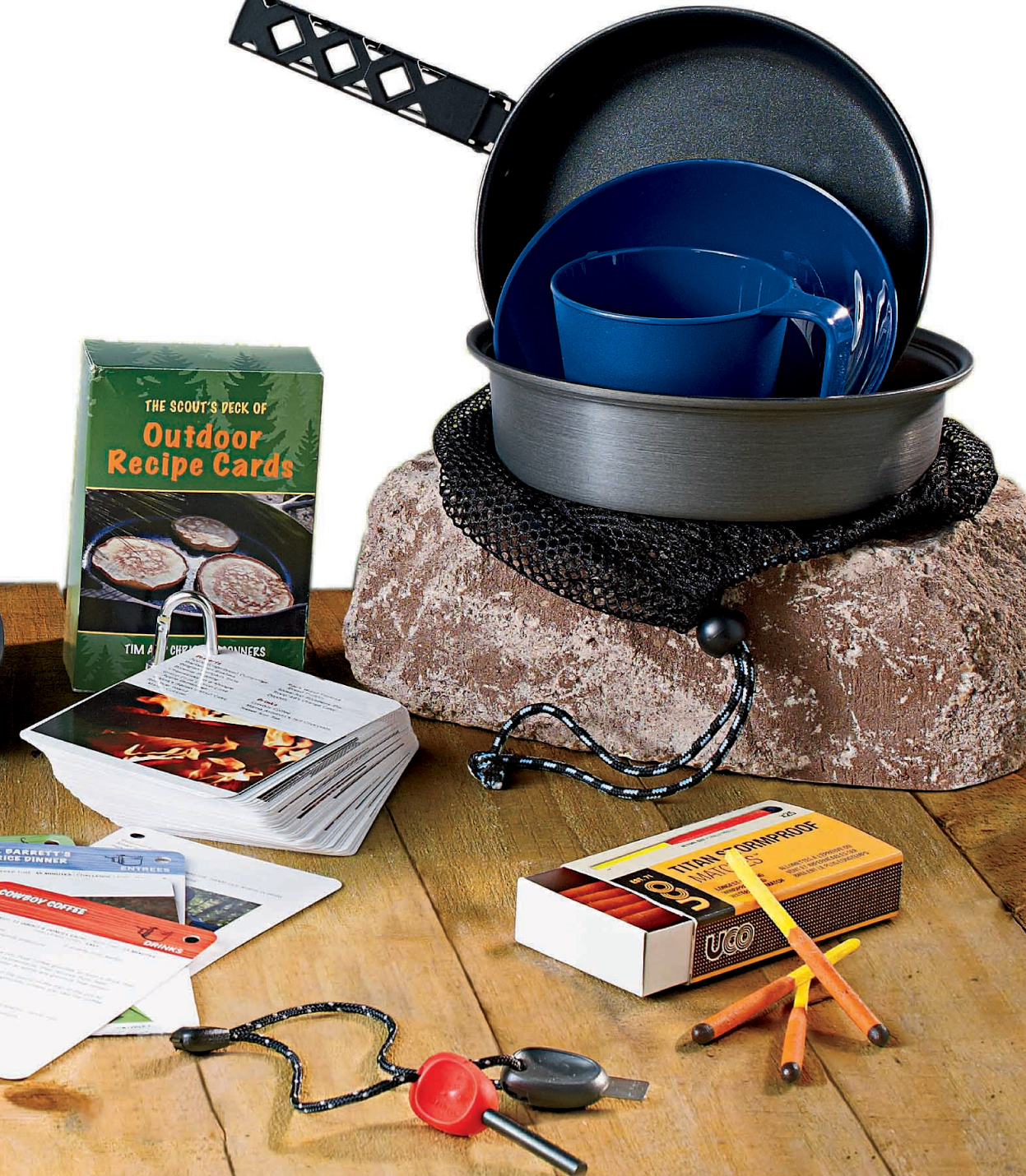 Camp Kitchen - Camp Cookware, Outdoor Recipes