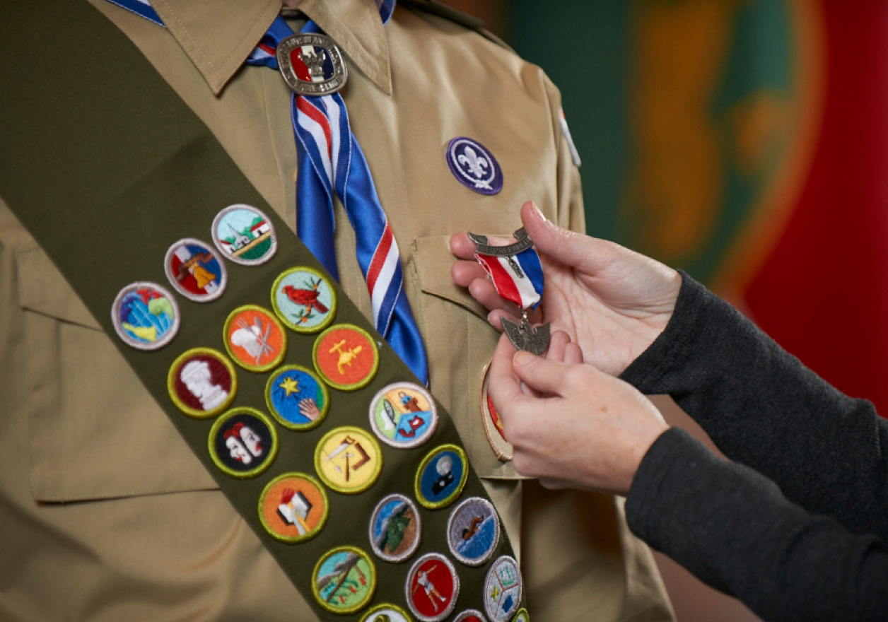 Eagle Scout Award and Badges