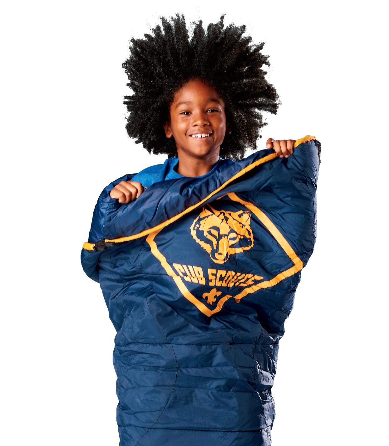 Cub Scout Branded Sleeping Bag