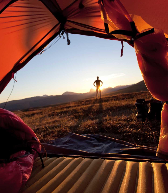 Camp Tents, Sleeping Pads, Sleeping Bags
