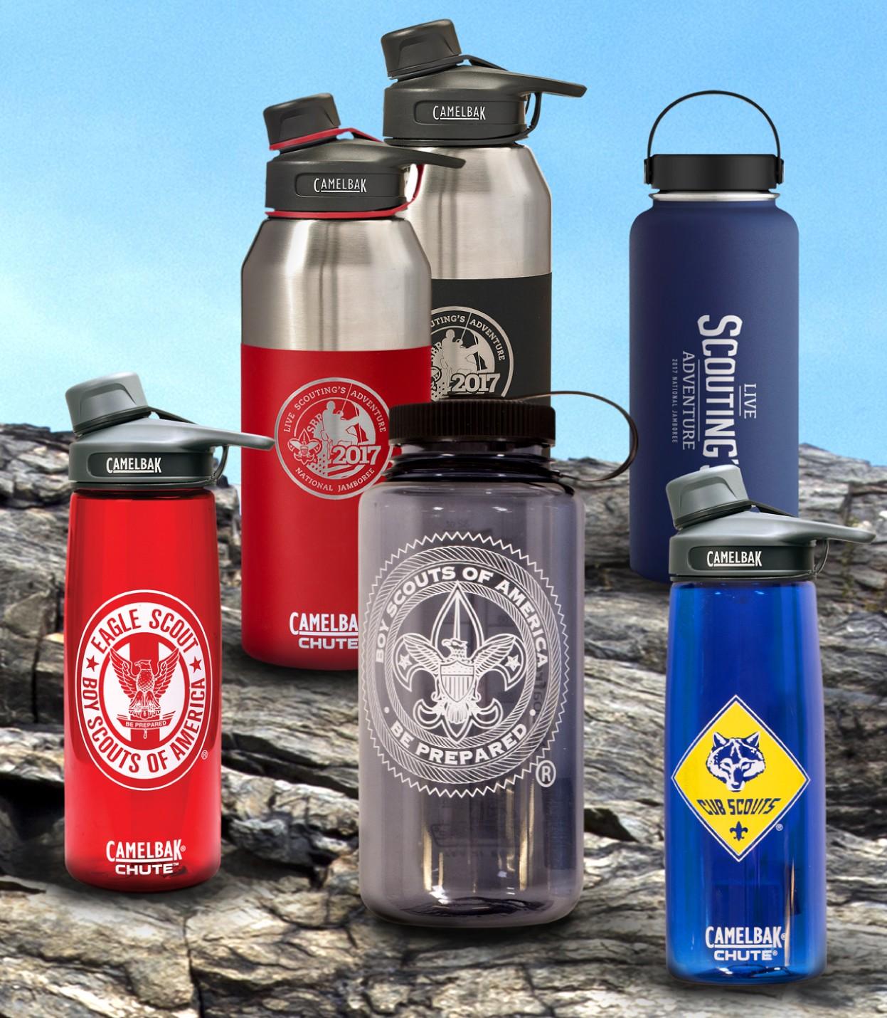 BSA Scout Branded Camelbak Water bottles