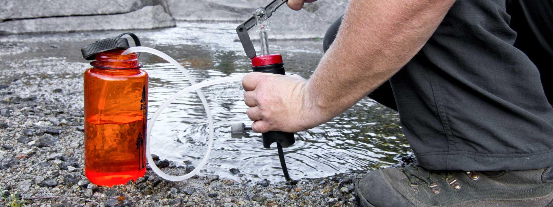 Water Purifier and Nalgene