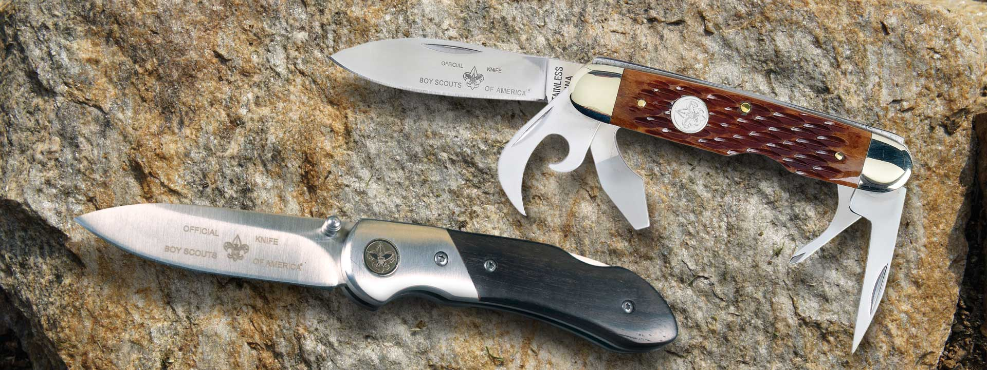 BSA Scout Branded Pocket Knives