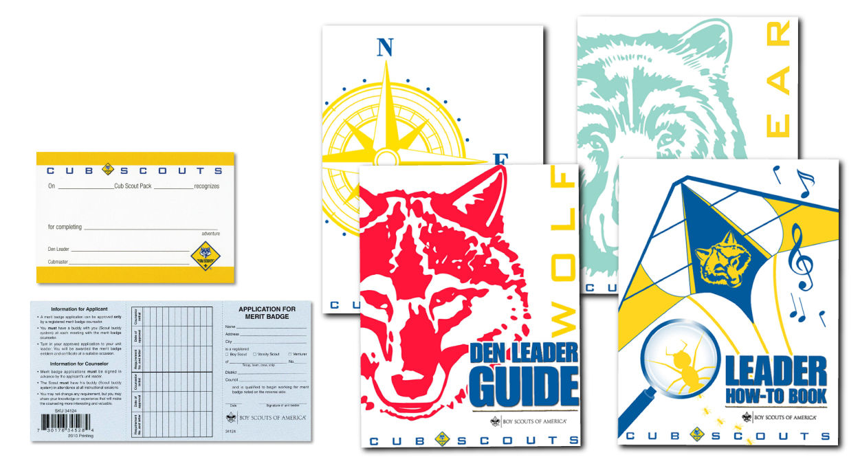 BSA Boy Scout and Cub Scout Leader Literature and Resources
