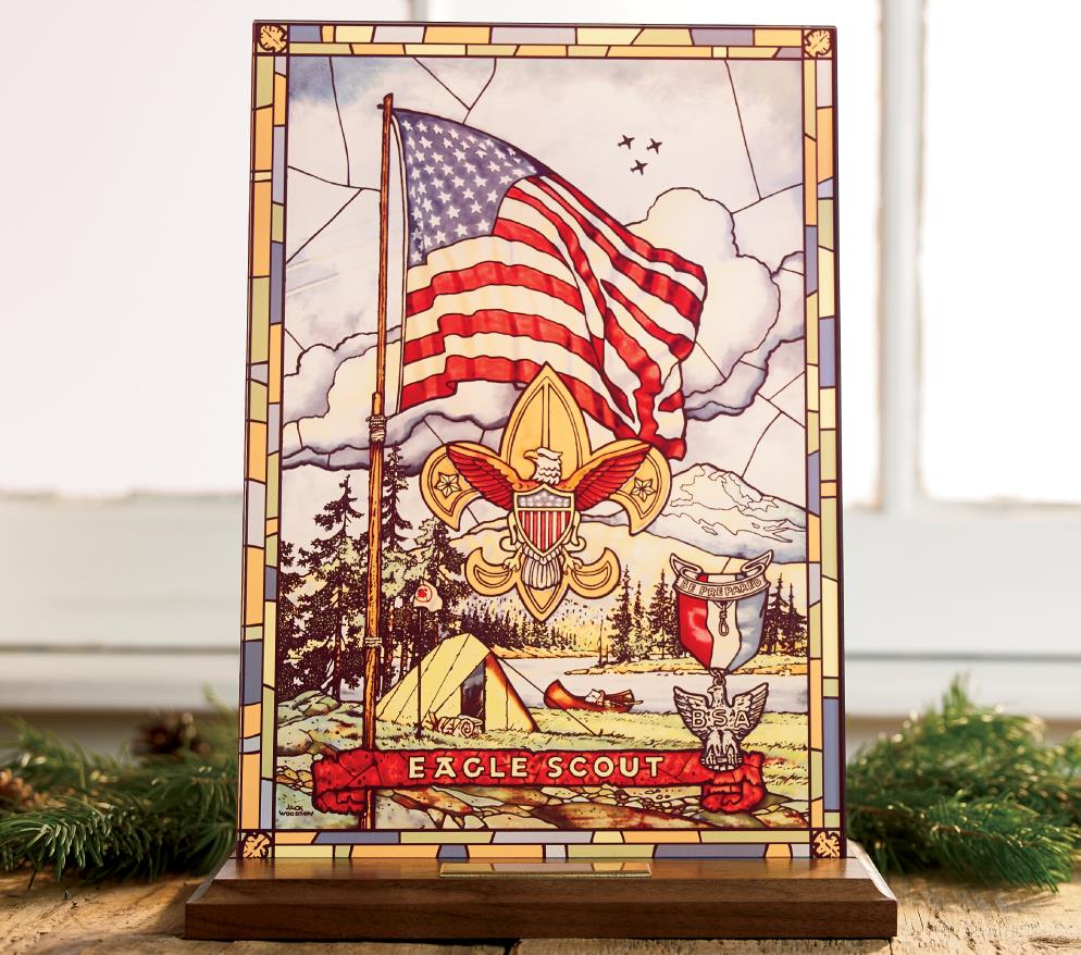 Eagle Scout Decorative Plaque