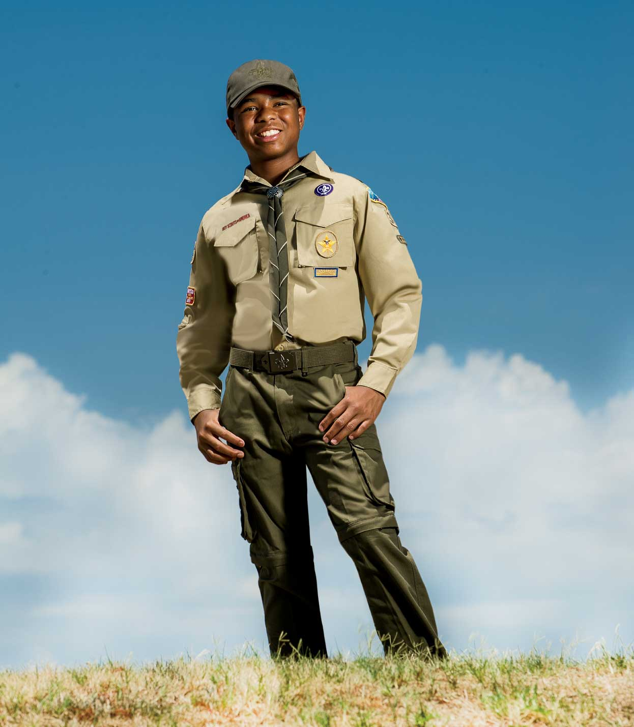 BSA Boy Scout Uniform- Tan