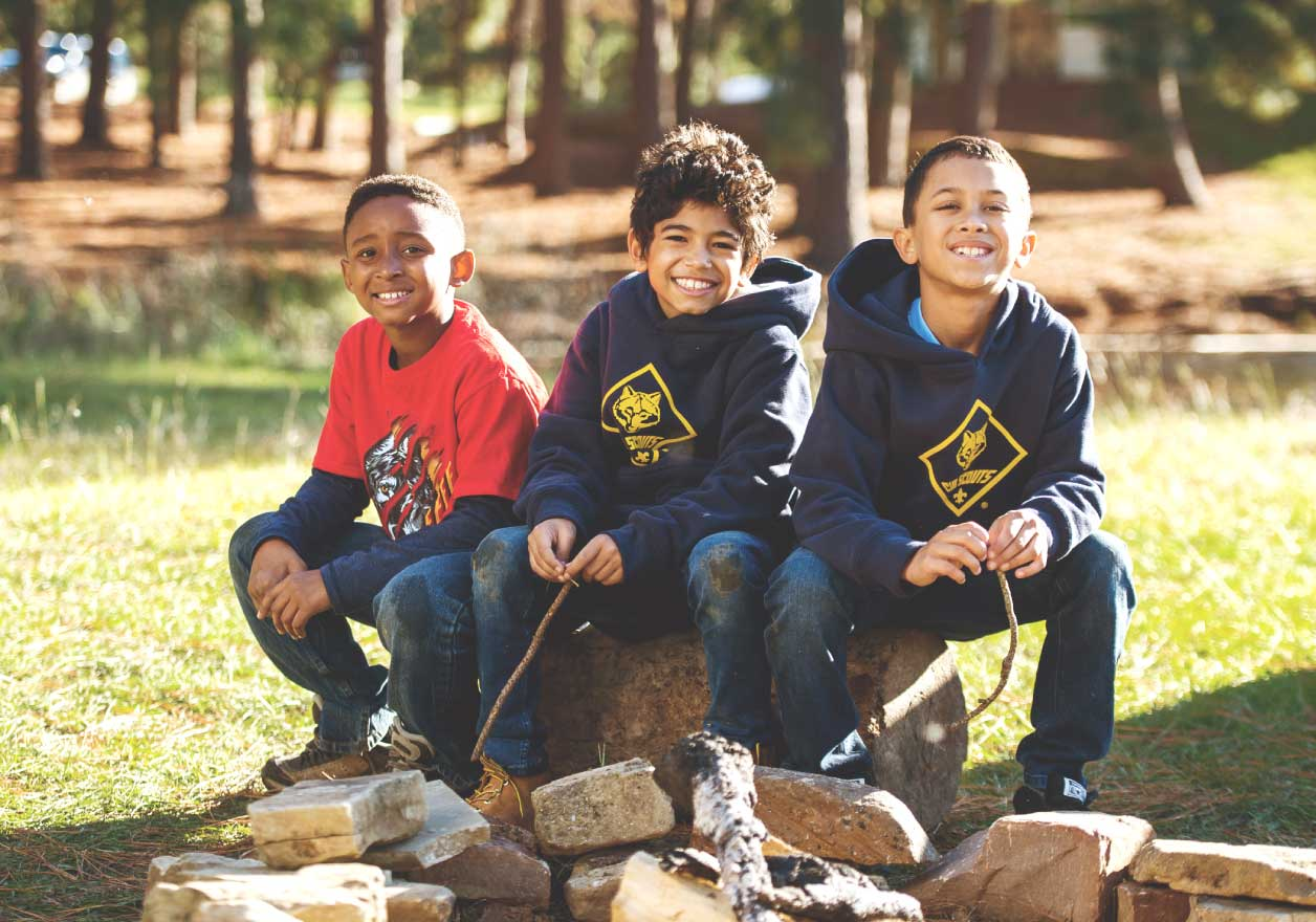 BSA Cub Scout Branded Sweatshirt and Hoodies Red and Navy Blue