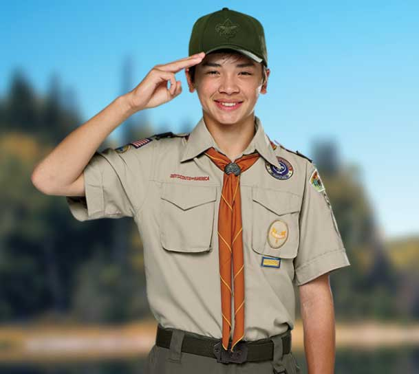 BSA Boy Scout Scout uniform- Tan