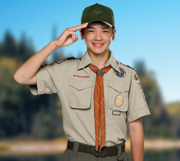 BSA Boy Scout Scout uniform- Tan