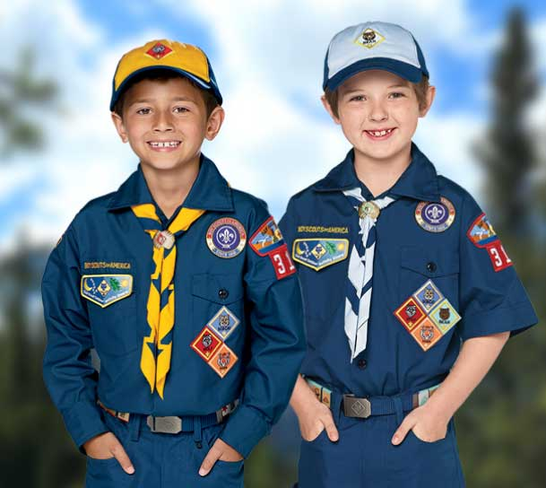 Official BSA Cub Scout Uniform- Blue