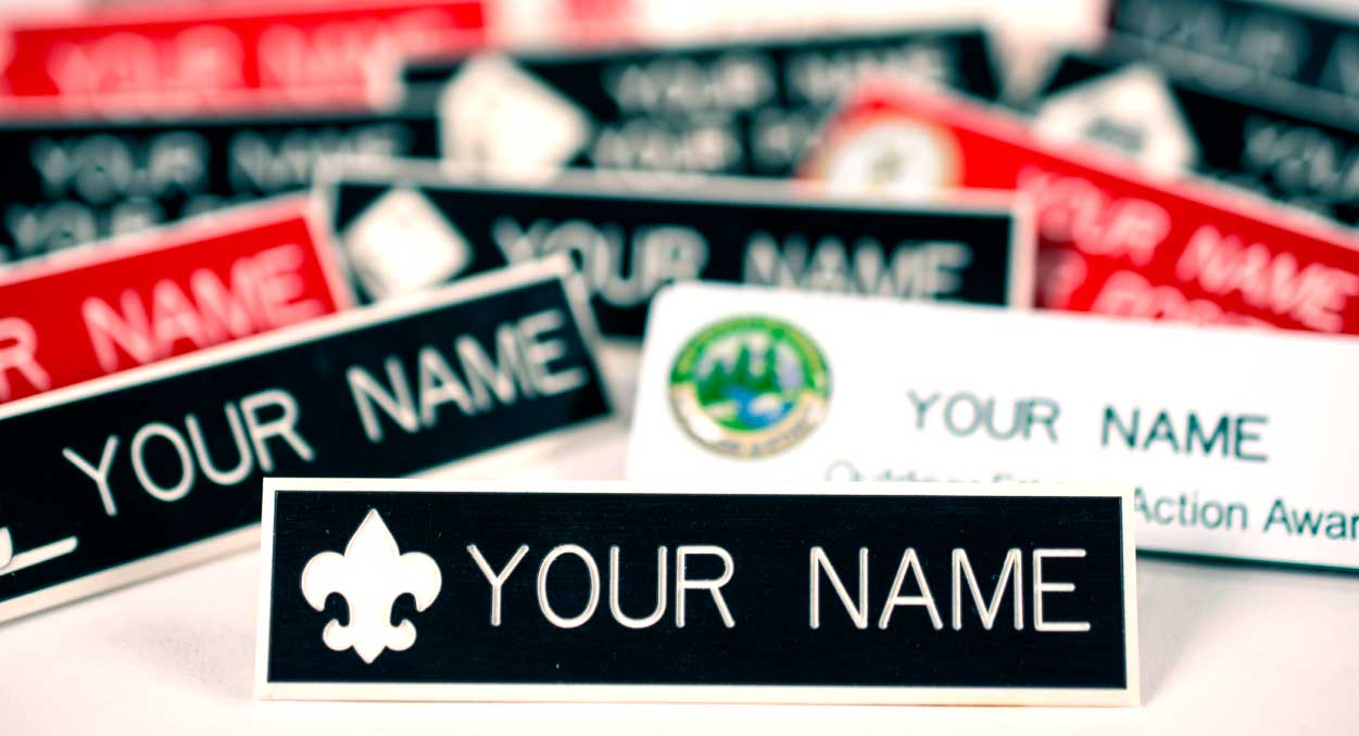 BSA Branded Name Tags