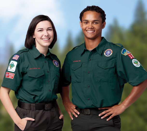 BSA Venture Scout Uniform - Green
