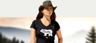 BSA Branded Black Mama Bear t-shirt
