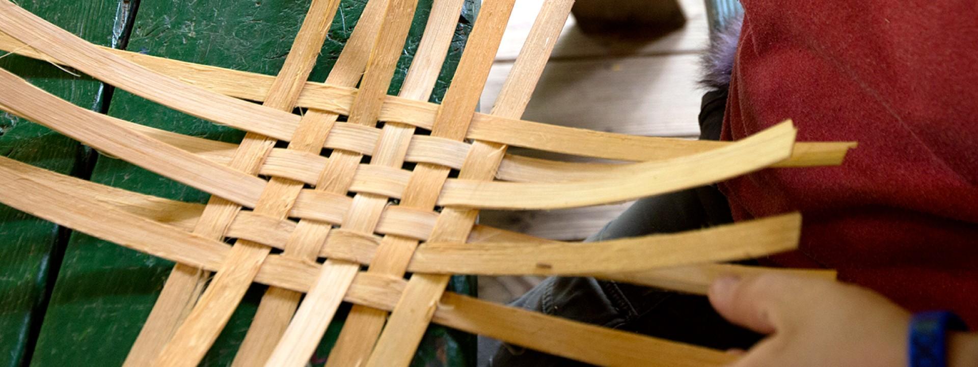BSA Crafts- Basket Weaving