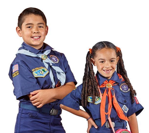 how to wear cub scout uniform